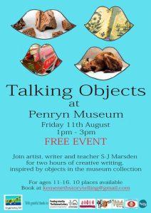 talking objects penryn